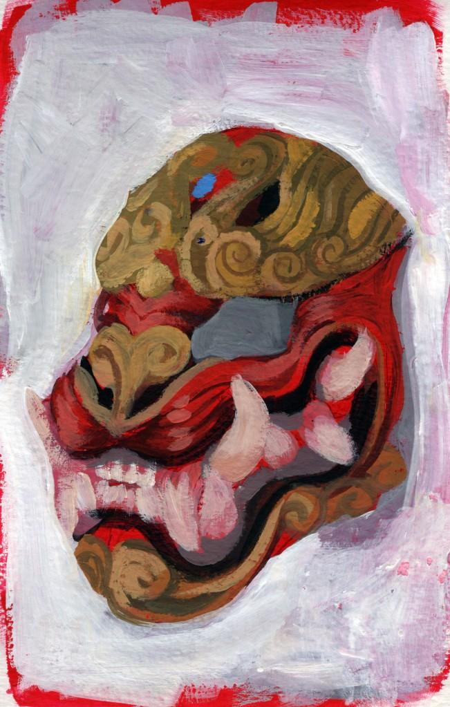 paint study mask