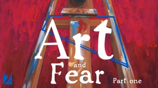 Illustration for my book review of Art and Fear