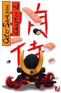Octo-Samurai Chapter 2 cover